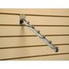 "CHR0ME SLATWALL APPAREL DISPLAY HOOK 12"" Item No.:  20-007"
